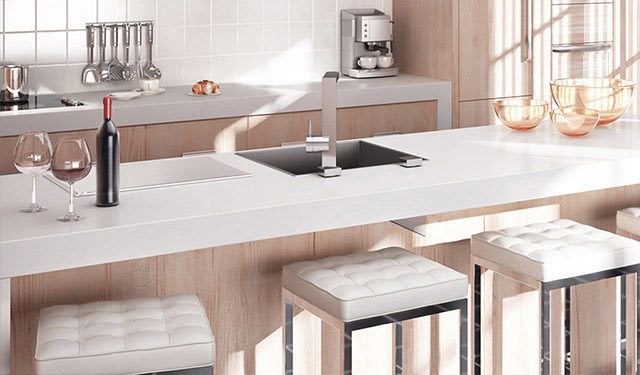 Küchendesign aus Holz vom Tischler