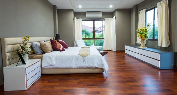 Schlafzimmer von der Tischlerei Jenewein