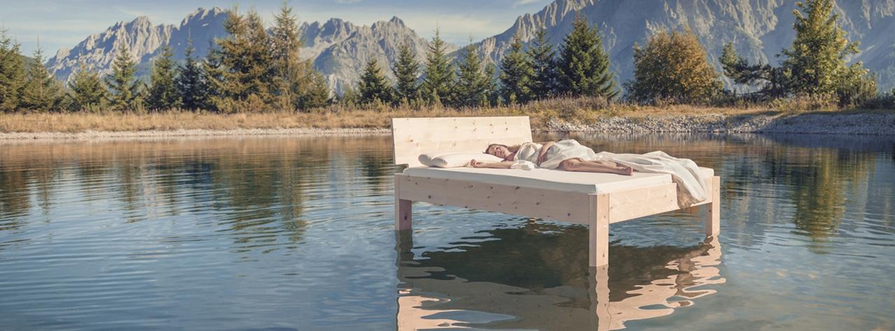 Schlafzimmer vom Tischler Jenewein Tirol