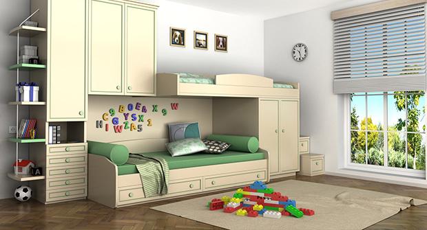 Kinderzimmer von der Tischlerei Jenewein
