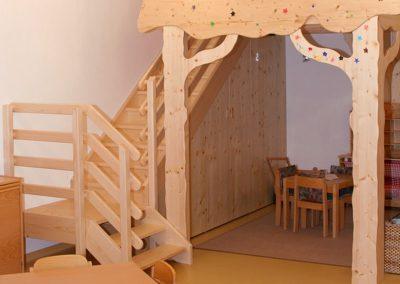 Tischler in Tirol: Referenzen der Tischlerei Jenewein Kindergarten Mieders