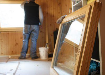 Fenster Sanierung vom Tischler Jenewein Tirol