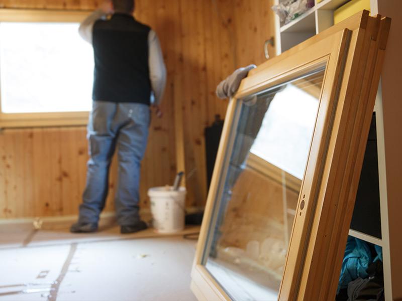 Holzfenster Sanierung vom Tischler Jenewein Tirol