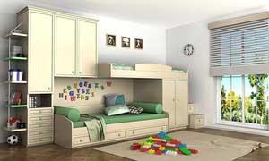 Kinderzimmer vom Tischler