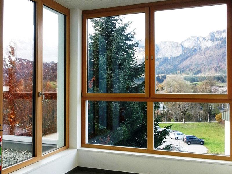 Holzfenster vom Tischler Jenewein Tirol