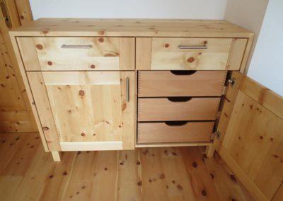 Zirbenholzmöbel Tischlerei Jenewein